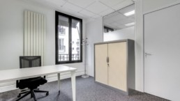 Location de bureau à Paris 15e.